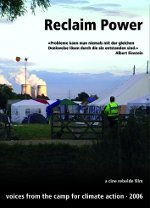 Reclaim Power - campement pour l'action climatique
